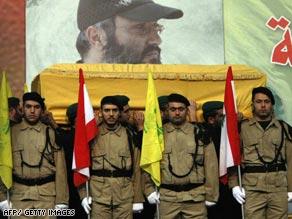 Funeral pel cap militard'Hezbollah