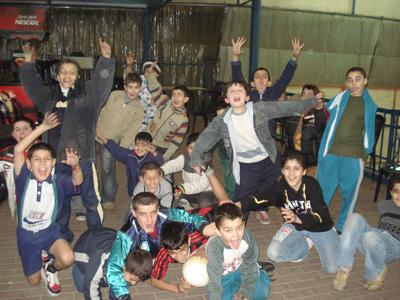 Grup d'iraquians abans de lacatequesis