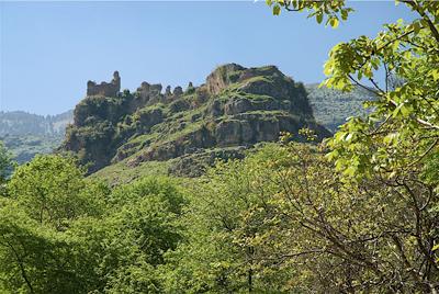 Castell de la vall d'Akkar, al nord del pais. Una visita pendent.