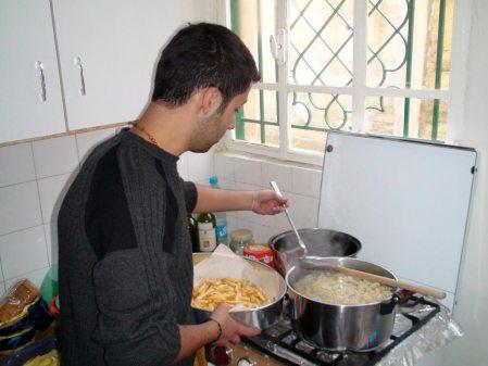 El Jean cuinant a Jawar el Hawz