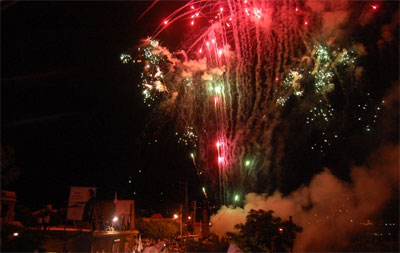 Celebrant els resultats de les eleccions al Líban