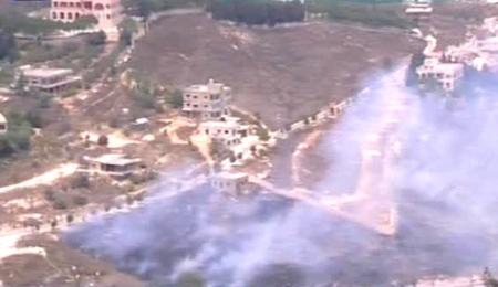 Imatge de la televisió israeliana