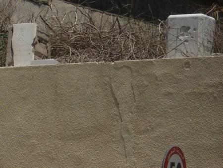 Un altre detall del cementiri jueu a Beirut