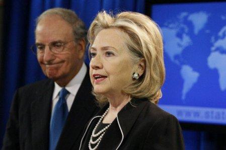 Hillary Clinton, anunciant la represa de les negociacions