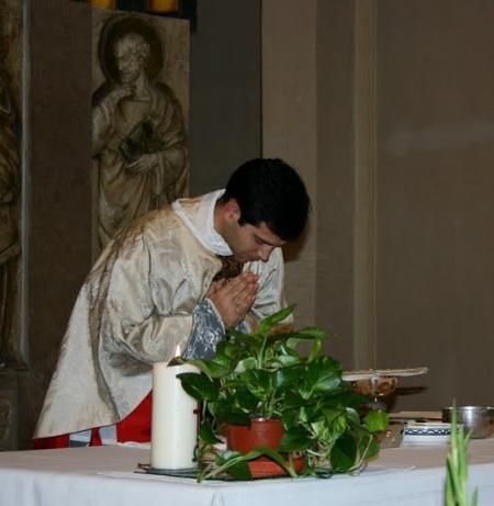 Durant la Missa Nova
